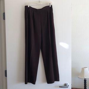 Brown sweater pants